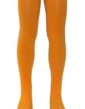 """גרביונים כתומים איכותיים לילדות, מתאים לגילאי 2-7, גובה 100-130 ס""""מ, אורך גרביון 60 ס""""מ מגוון צבעים"""