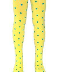 גרביונים צהובים עם נקודות